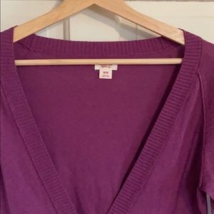 Merona Sweaters - Merona Purple / Pink Cardigan